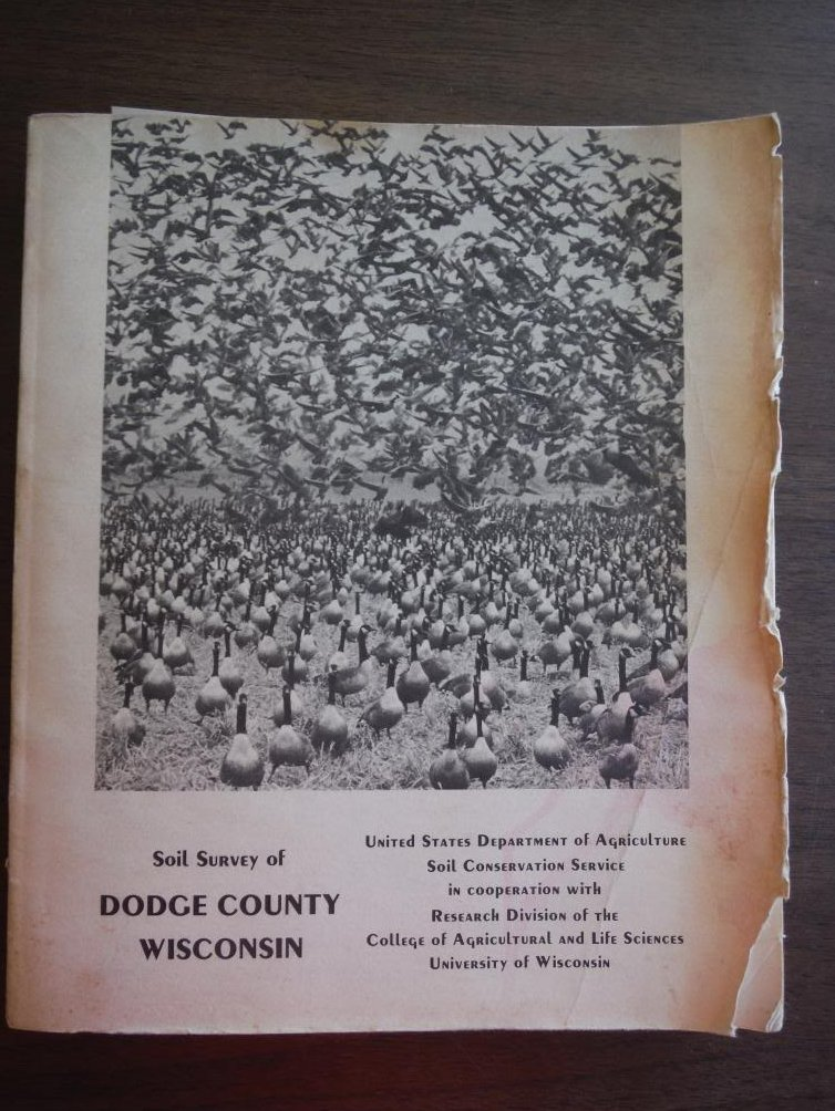Soil survey of Dodge County, Wisconsin