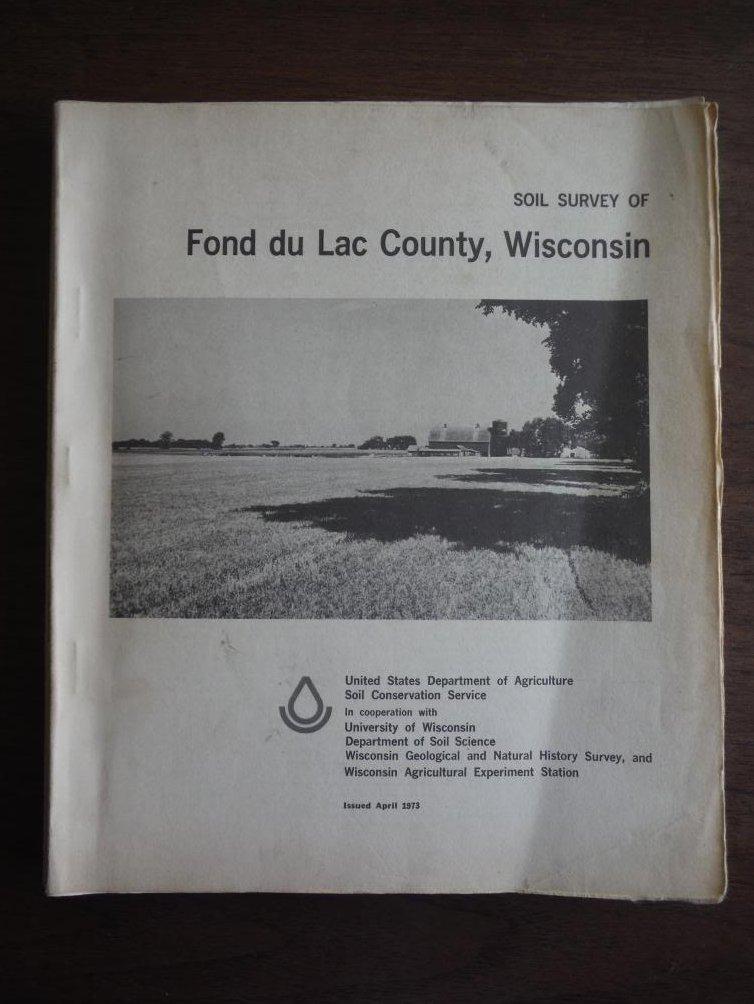Soil survey of Fond du Lac County, Wisconsin