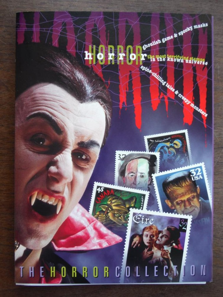 Image 0 of Stock Photo the Horror Collection: Postage Stamps, Through the Graveyard Game