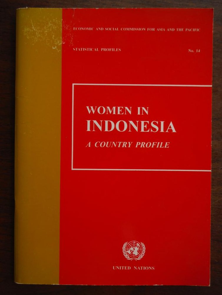Women in Indonesia: A Country Profile (Statistical Profiles)