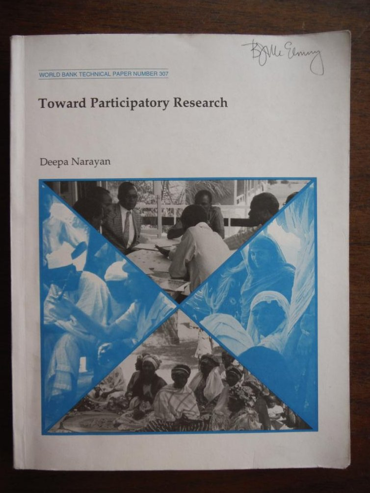 Toward Participatory Research (World Bank Technical Paper,)
