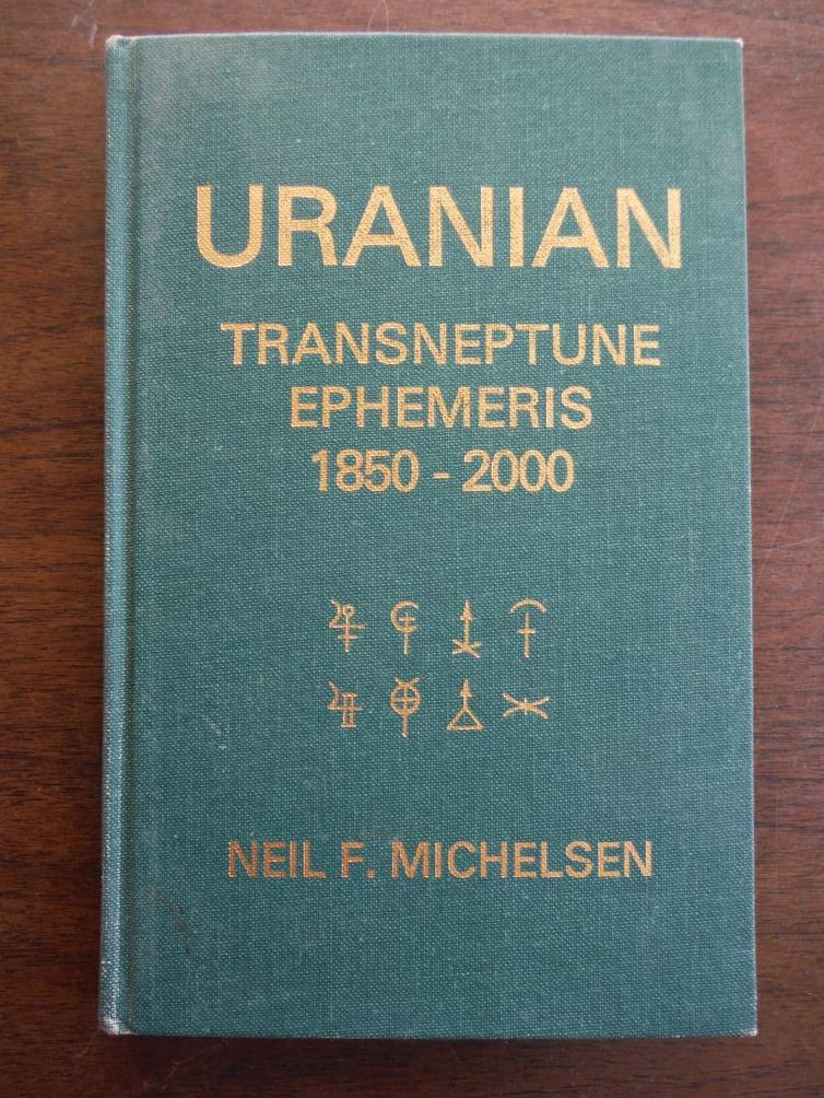 Uranian Transneptune Ephemeris 1850-2000