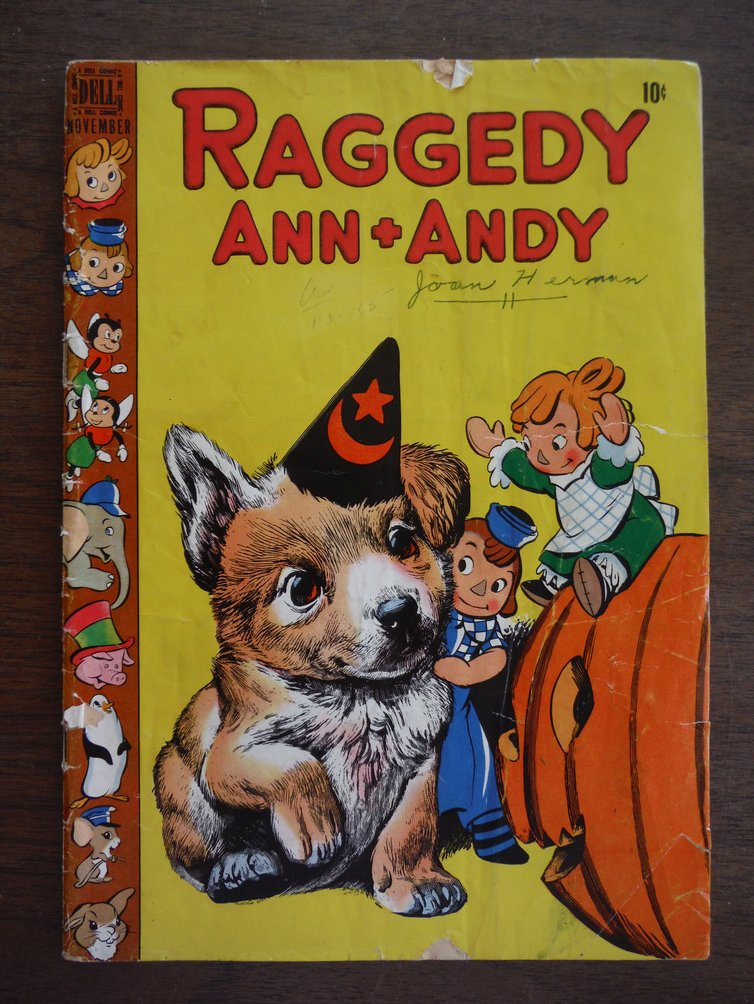 Image 0 of Raggedy Ann + Andy (Vol. I, No. 30, November, 1948