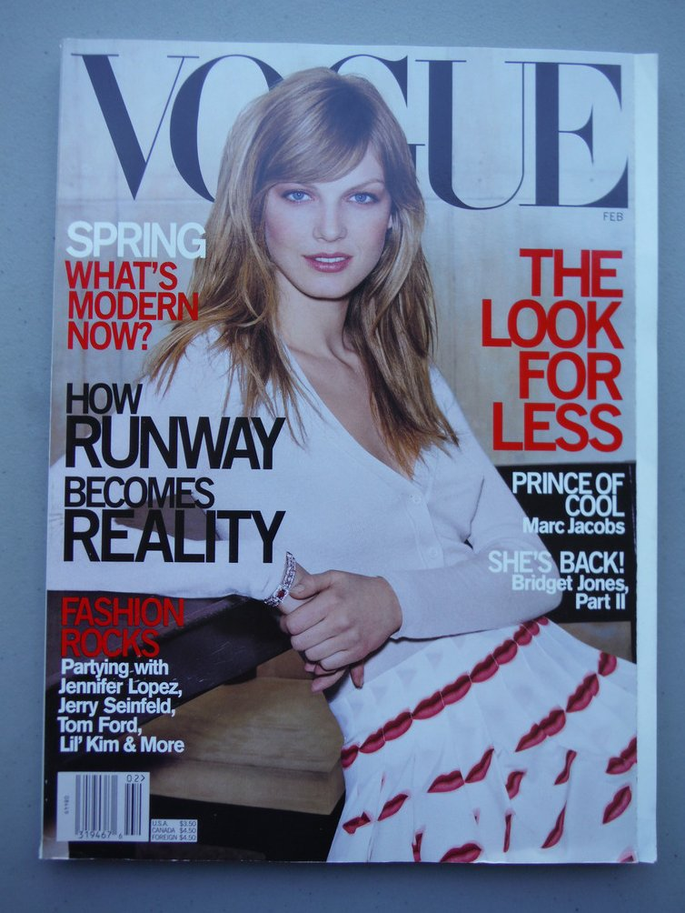 Image 0 of Vogue Magazine (HOW RUNWAY BECOMES REALITY , SPRING , Marc Jacobs , Bridget Jone