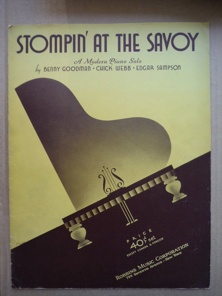 Image 0 of Stompin' at the Savoy A Modern Piano Solo