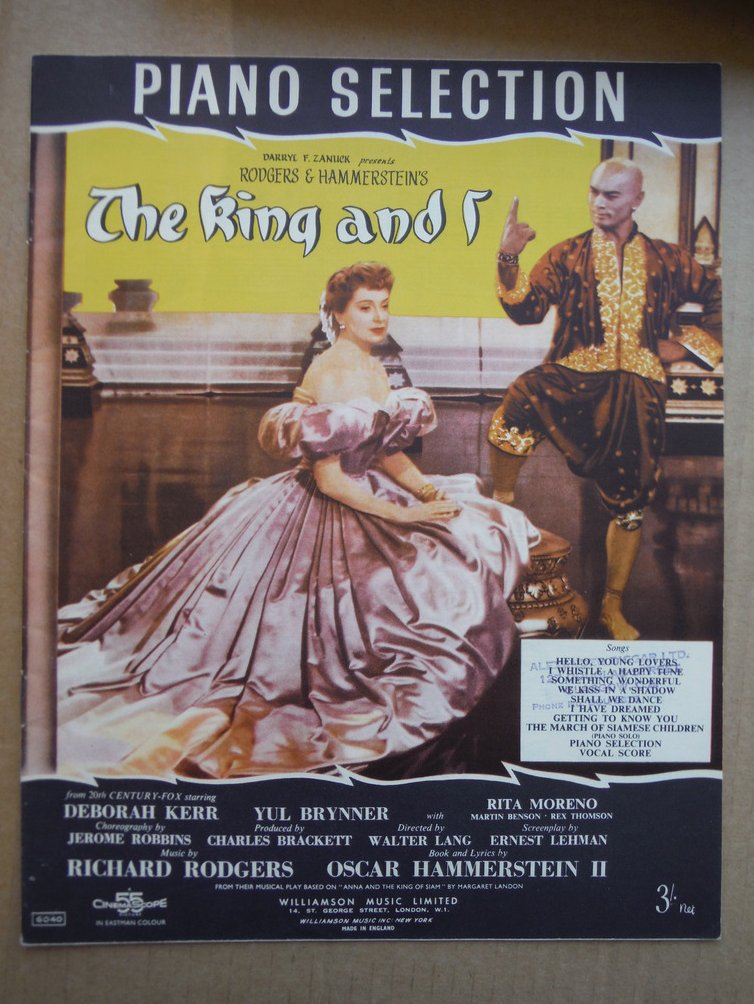 The King and I Selection (piano music only)