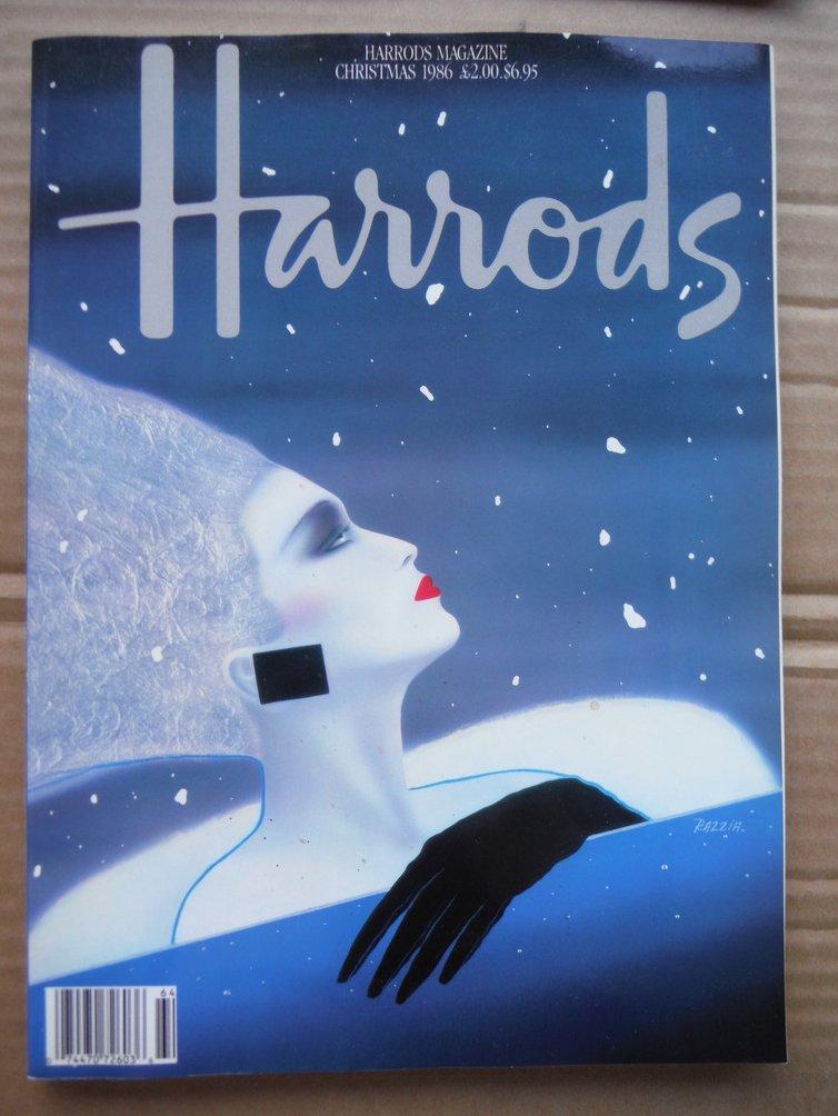 Harrods Magazine Christmas 1986