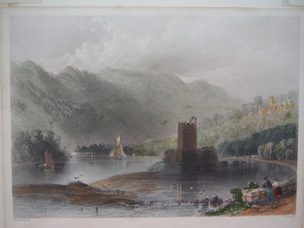 Image 0 of Rofs Castle - Killarney 1846 Engraving