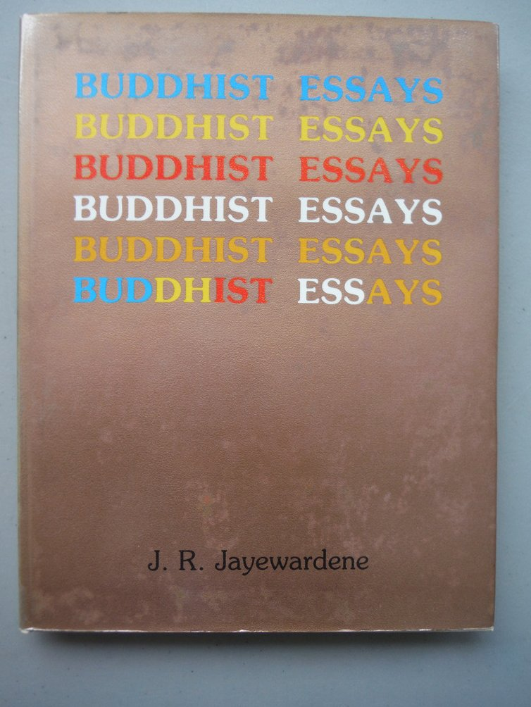 Image 0 of Buddhist Essays