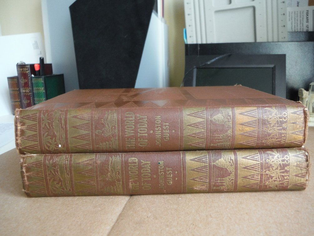 Image 0 of The world of To-day: The Marvels of Nature and the Creations of Man - 2 Volumes