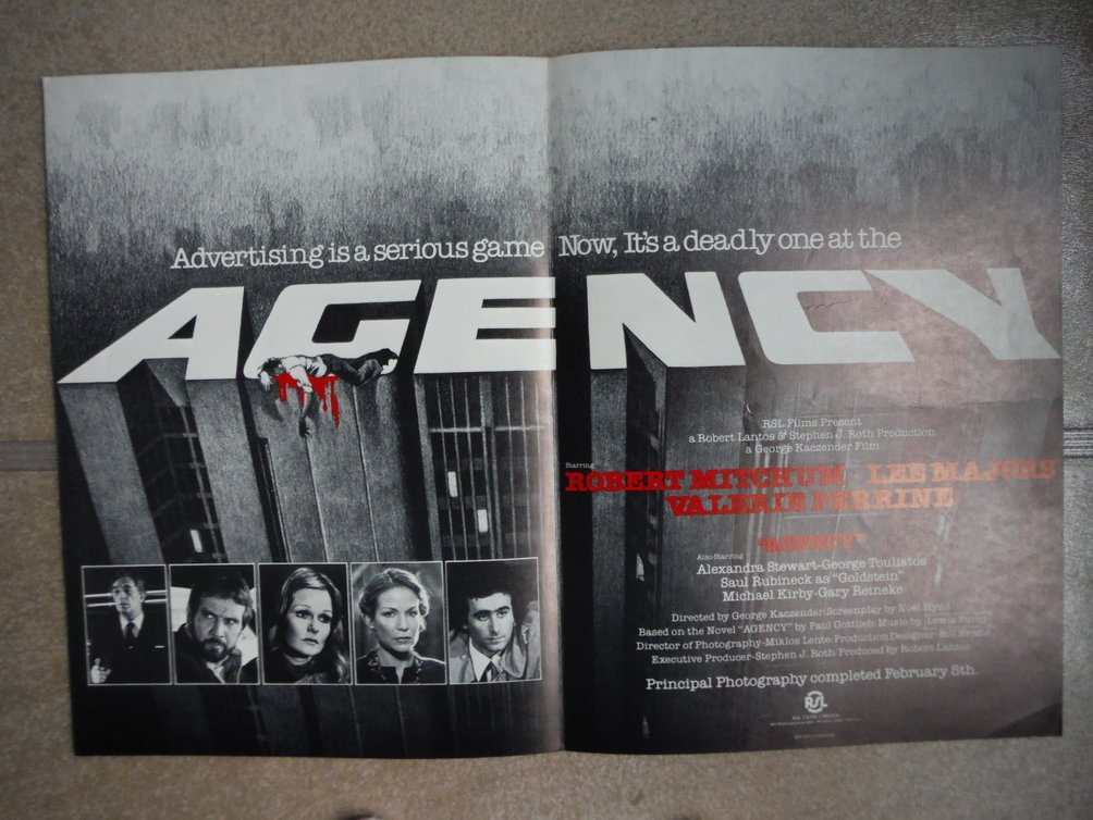 Agency (Movie Poster)