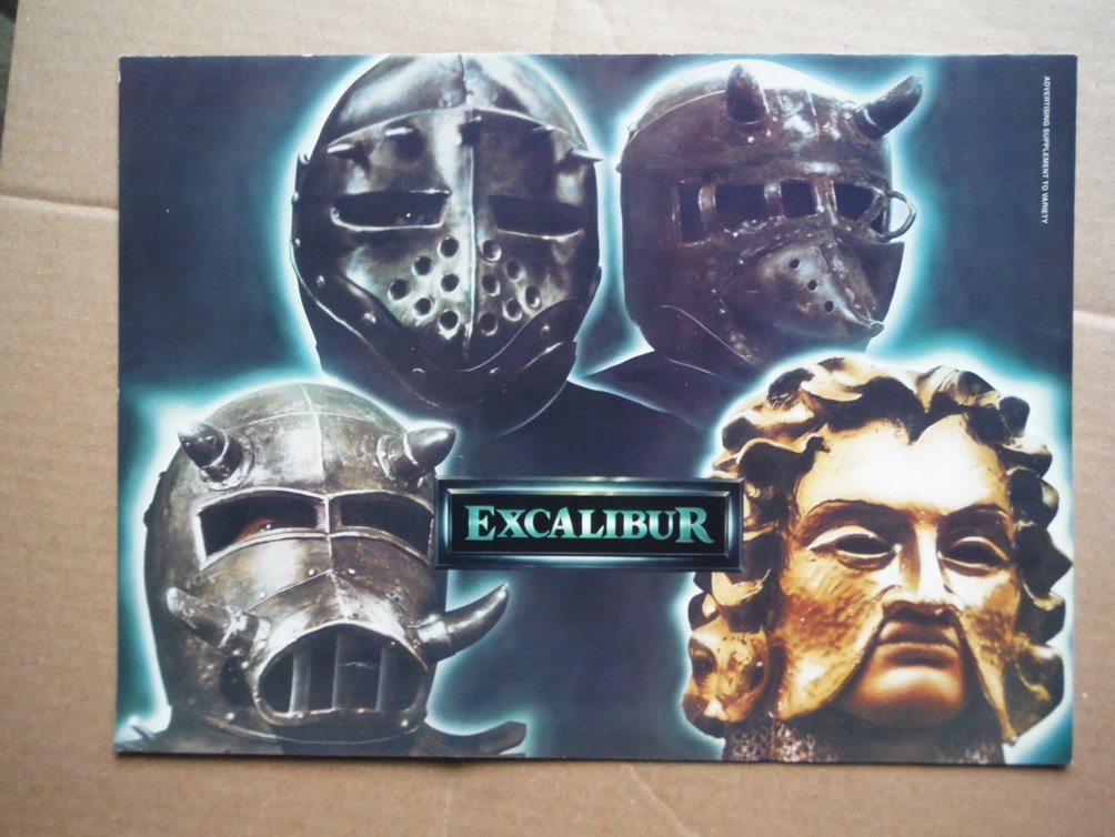 Excalibur (Movie Poster)