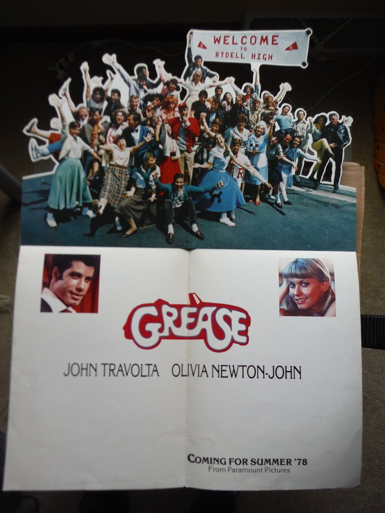 Grease (Movie Poster)