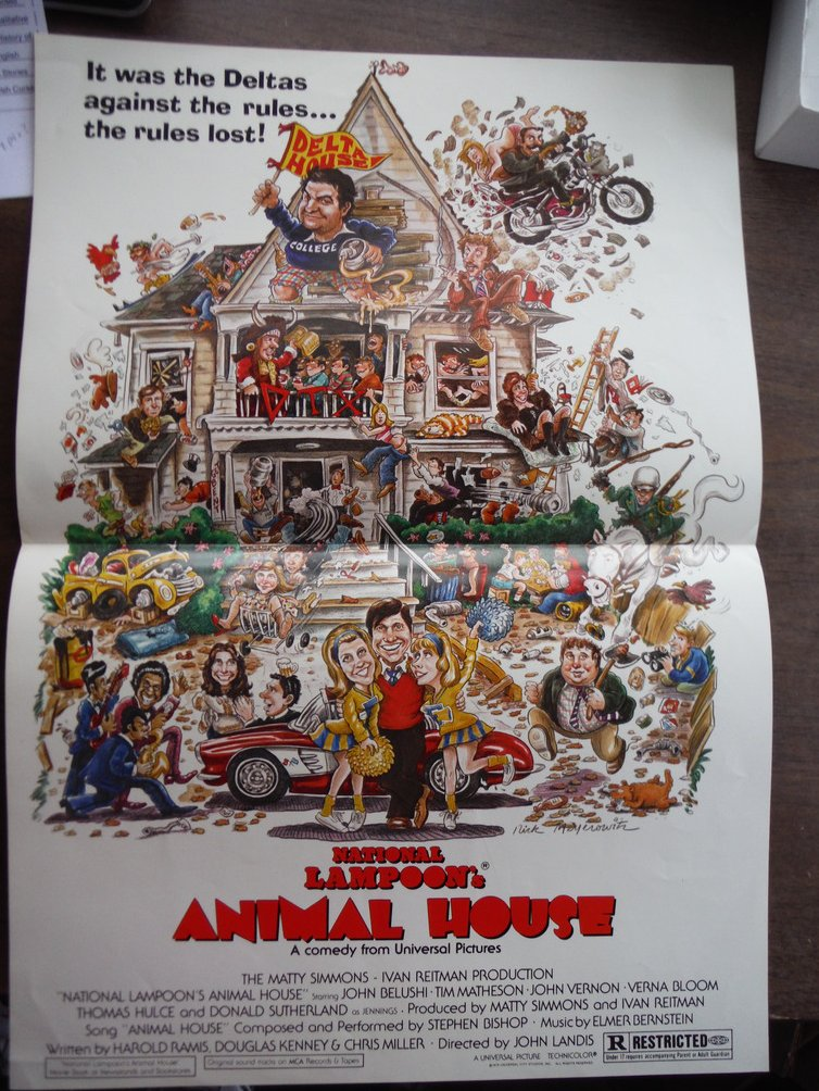 National Lampoon's Animal House (Movie Poster)