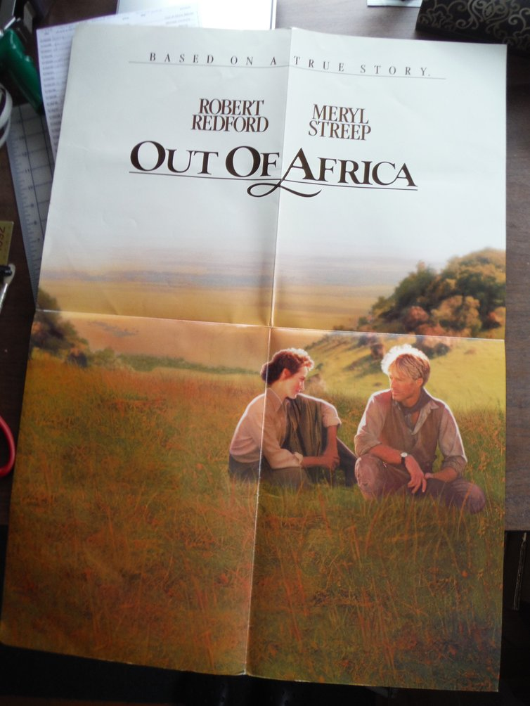 Out of Africa (Movie Poster)