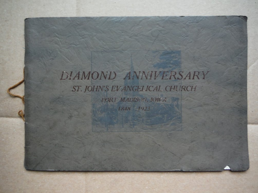 Souvenir Album for Seventy-fifh Annivesary of St. John's Evangelical Congregatio