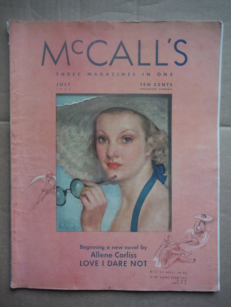 Image 0 of McCall's (Three Magazines in One, VOL. LXIII, No. 10)