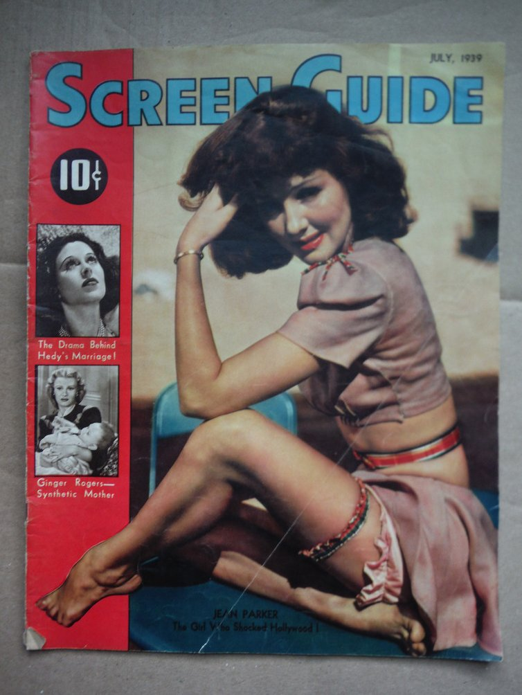 Image 0 of Screen Guide Magazine - July, 1939