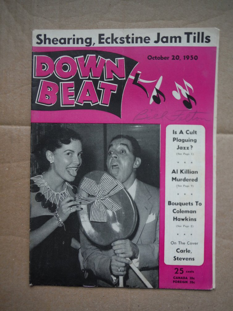 Image 0 of Down Beat Magazine October 20, 1950