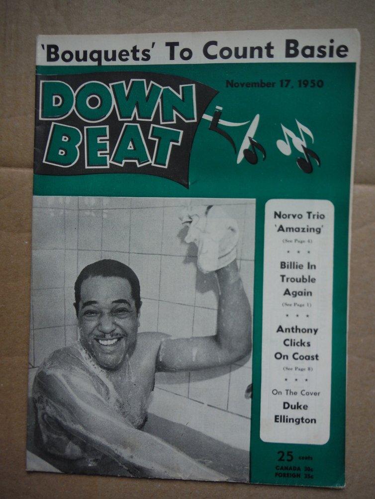 Image 0 of Down Beat Magazine - November 17, 1950