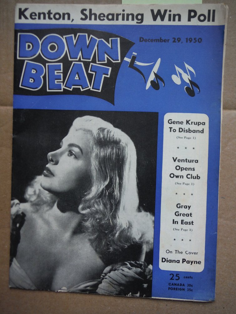 Image 0 of Down Beat Magazine - December 29, 1950
