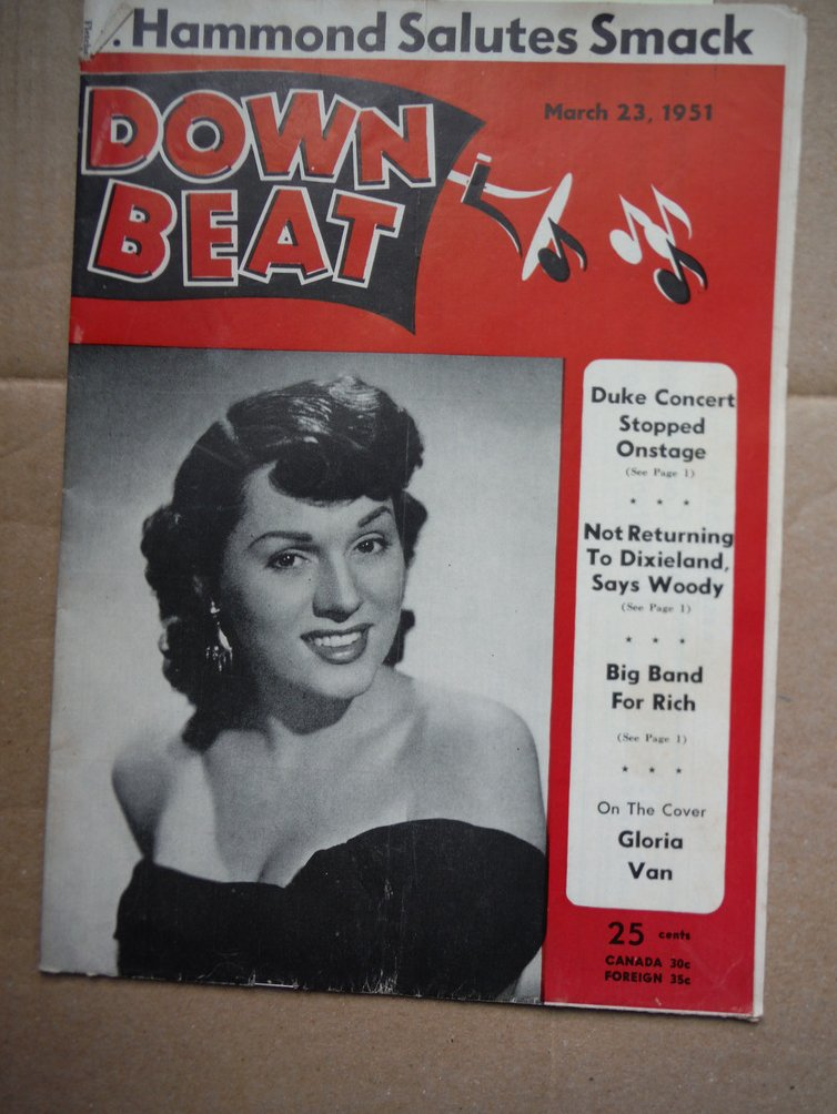 Image 0 of Down Beat Magazine - March 23, 1951