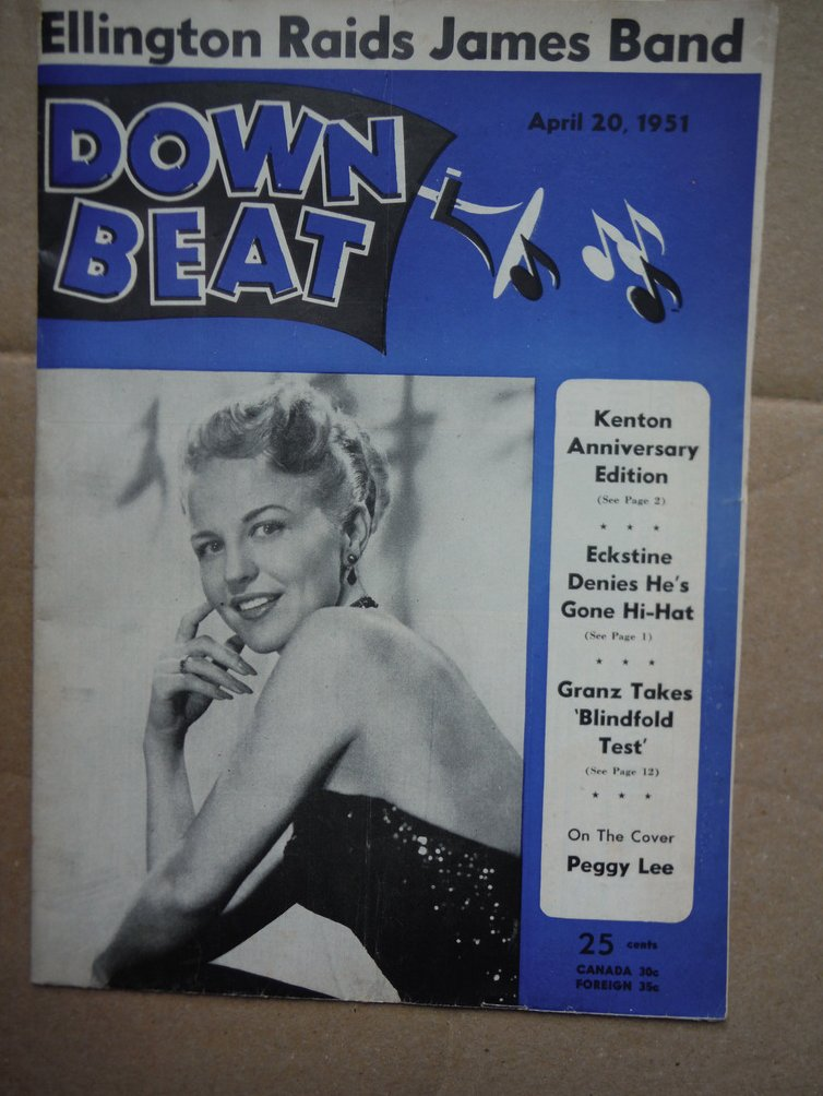 Image 0 of Down Beat Magazine - April 20, 1951