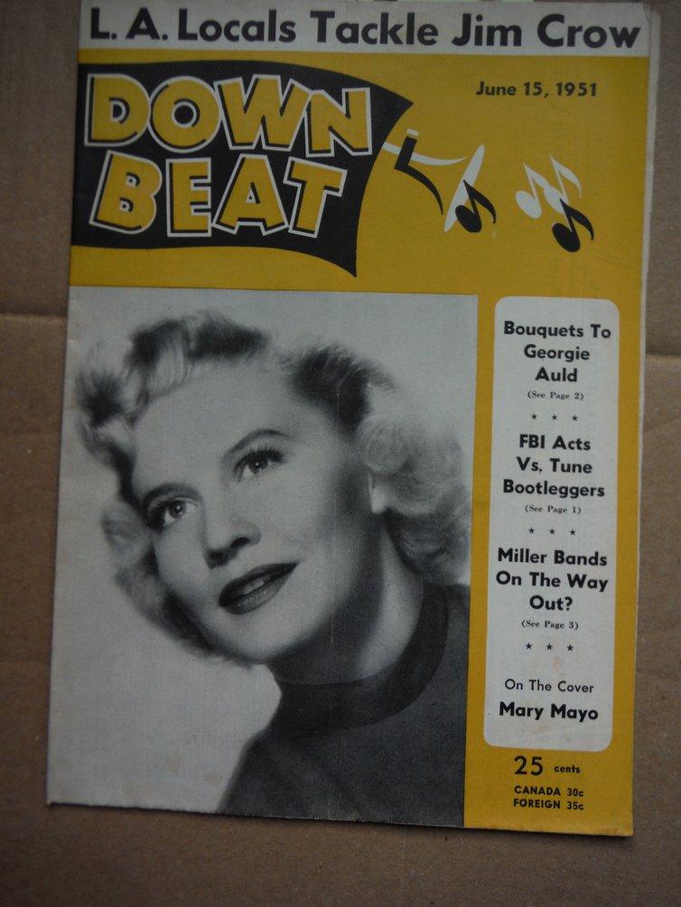 Image 0 of Down Beat Magazine - June 15, 1951