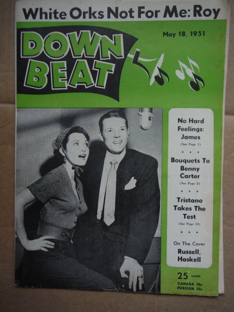 Image 0 of Down Beat Magazine - May 18, 1951