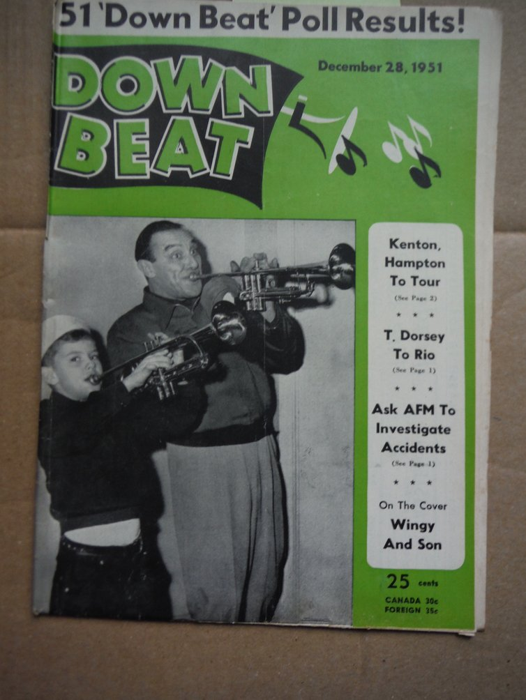 Image 0 of Down Beat Magazine - December 28,, 1951
