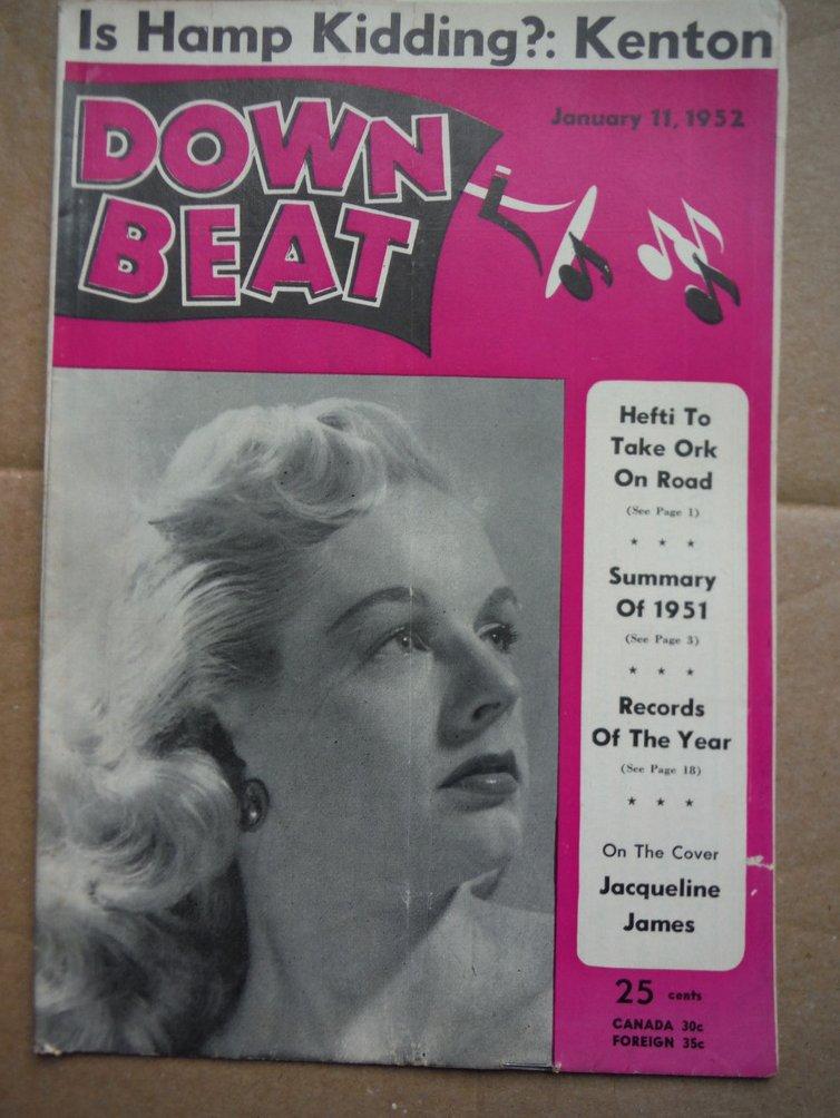 Image 0 of Down Beat Magazine - January 11, 1952