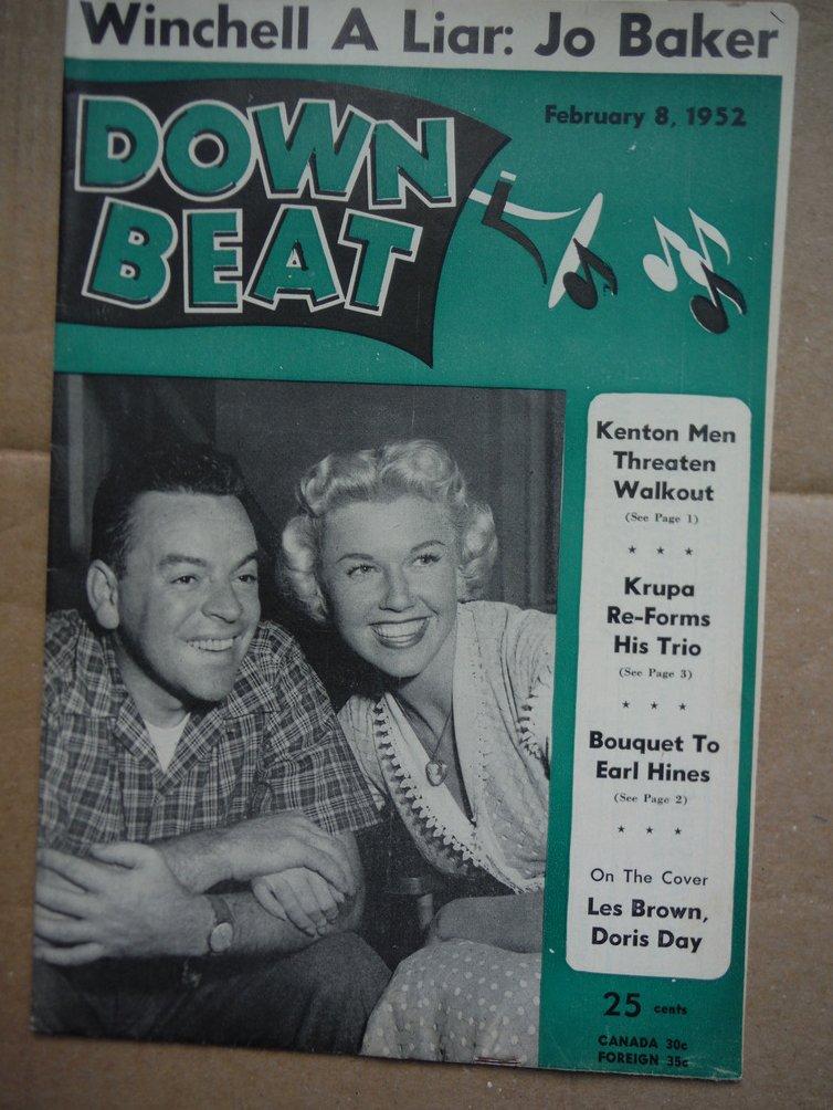 Image 0 of Down Beat Magazine - February 8, 1952