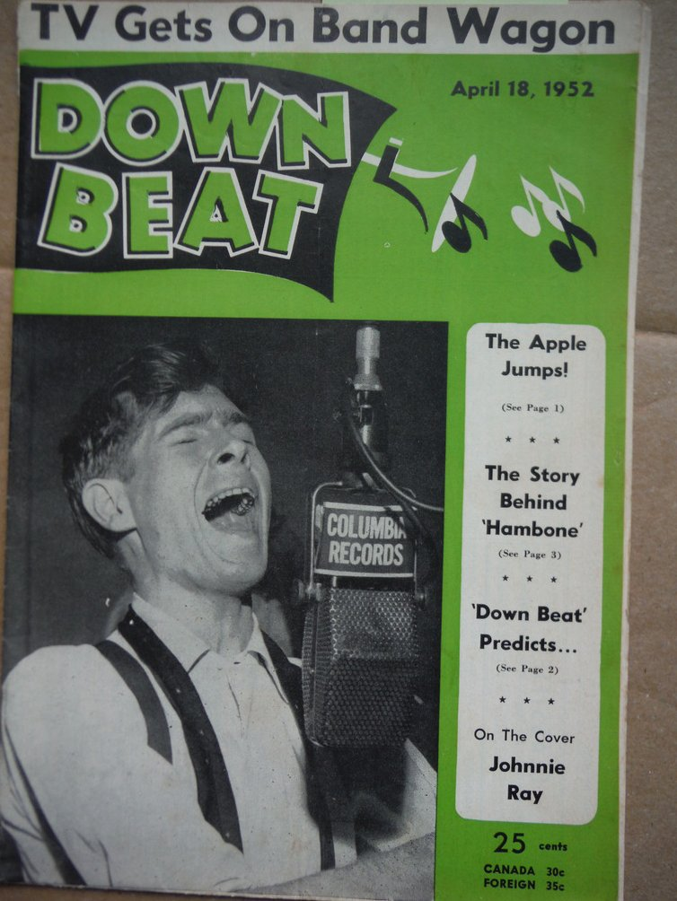 Image 0 of Down Beat Magazine - April 18, 1952