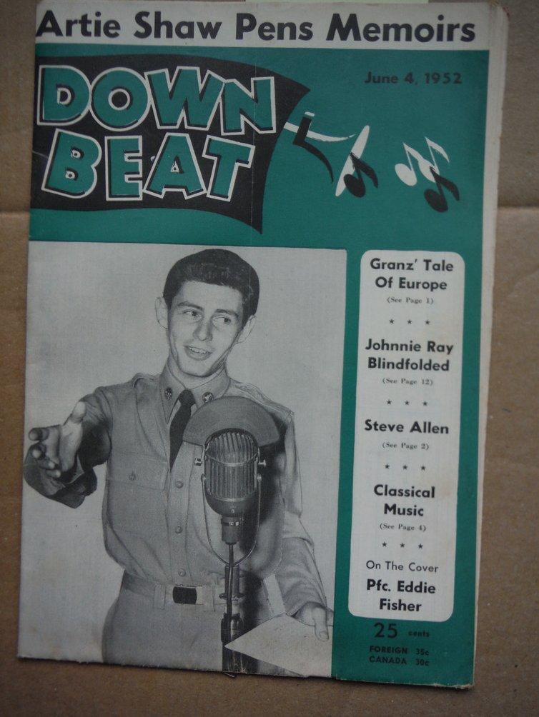 Image 0 of Down Beat Magazine - June 4, 1952