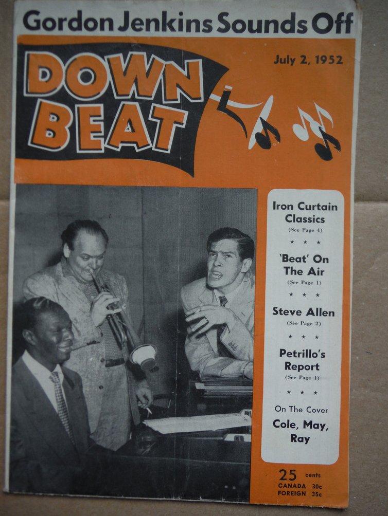 Image 0 of Down Beat Magazine - July 2, 1952