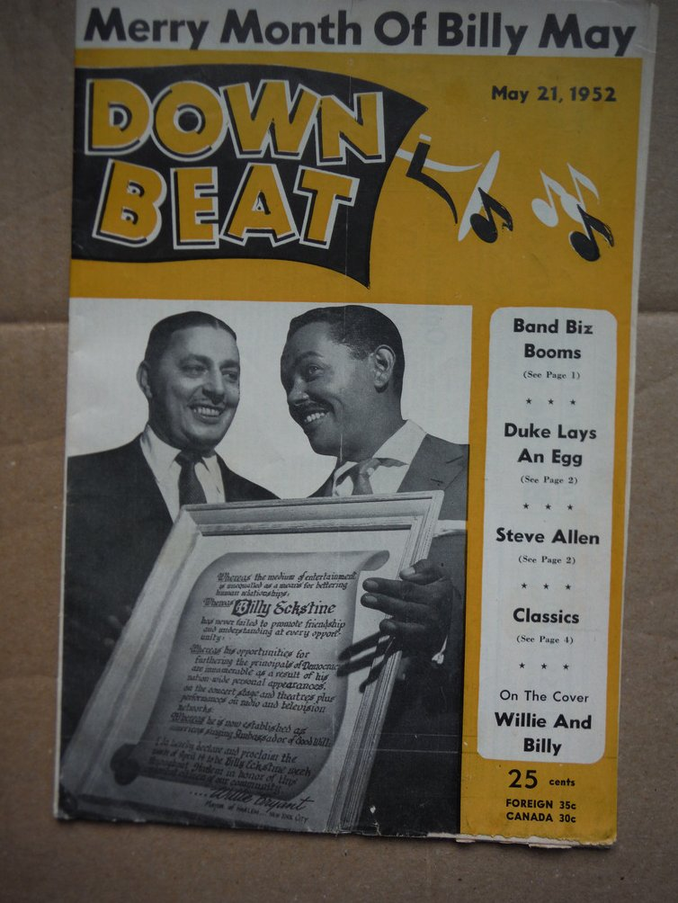 Image 0 of Down Beat Magazine - May 21, 1952