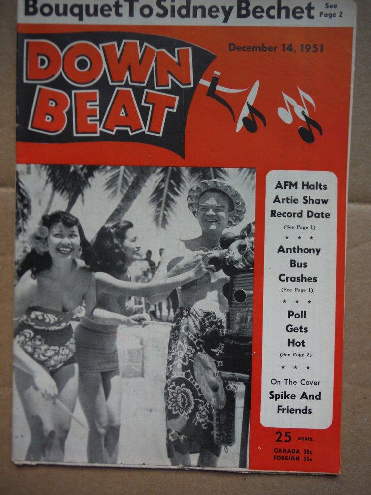 Image 0 of Down Beat Magazine - December 14, 1952