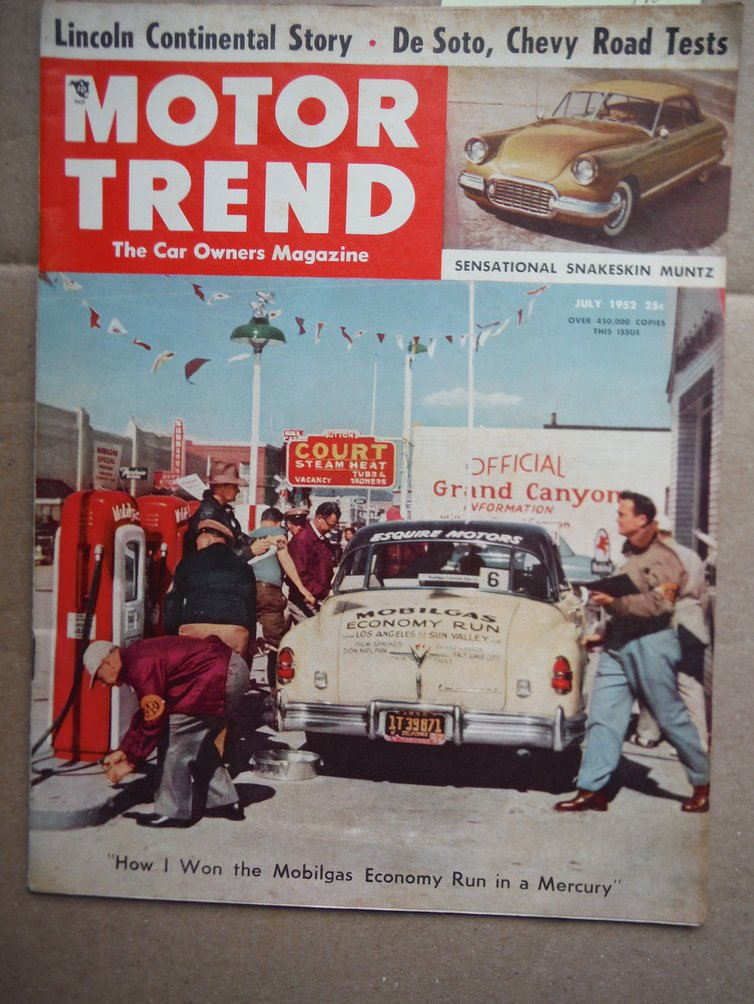 Motor Trends Magazine  July 1952