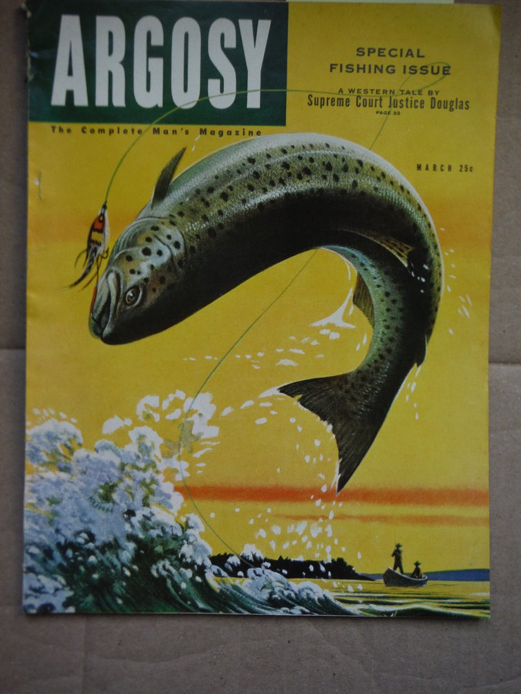 Argosy The Complete Man's Magazine (Vol. 334 No. 3 (March, 1952)