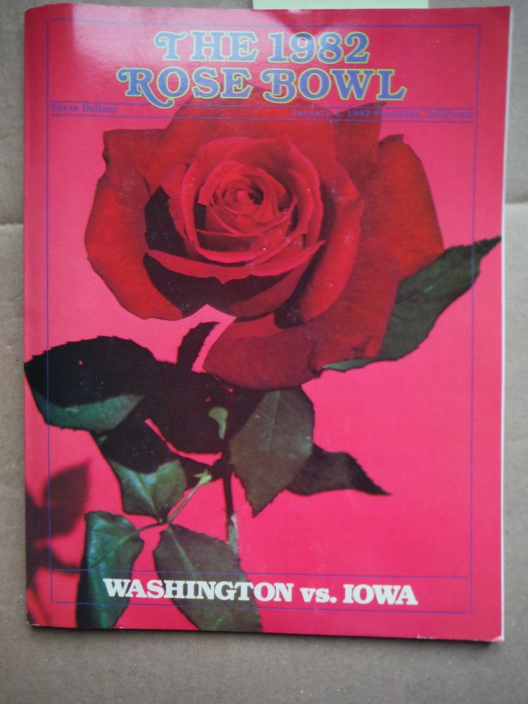 The 1982 Rose Bowl: Washington Vs. Iowa