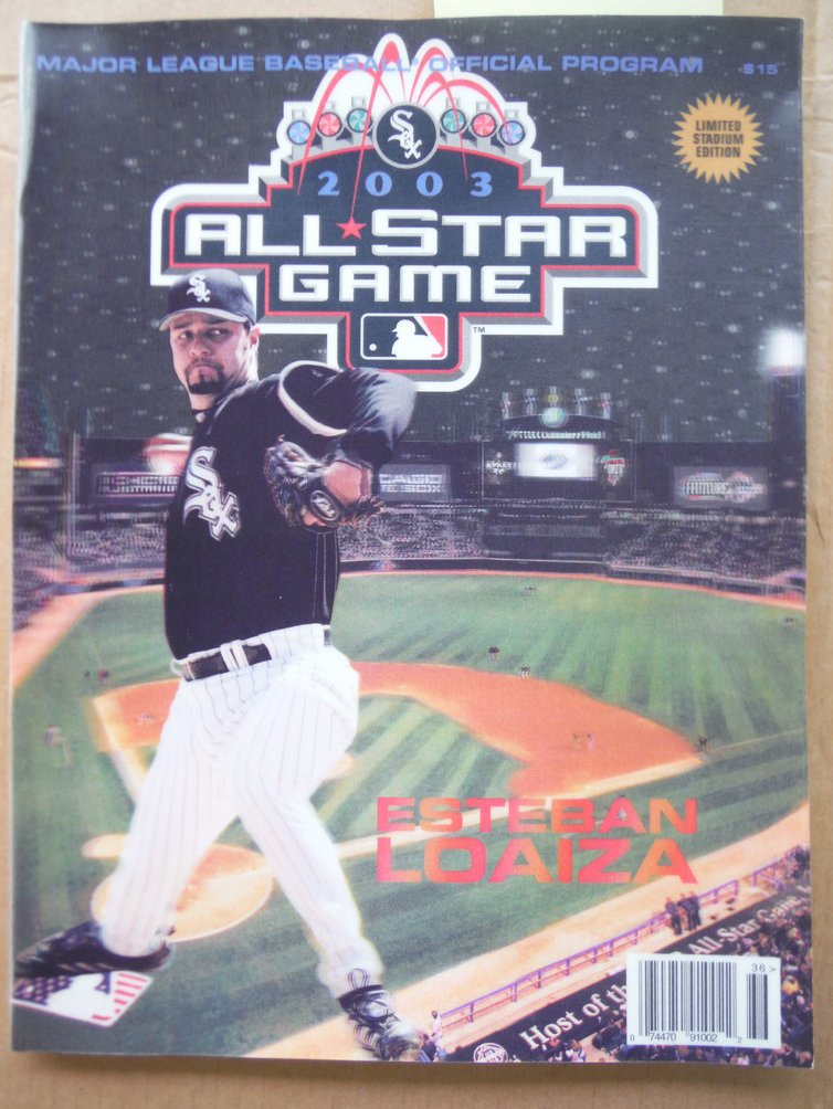 2003 All-Star Game Official Game Program
