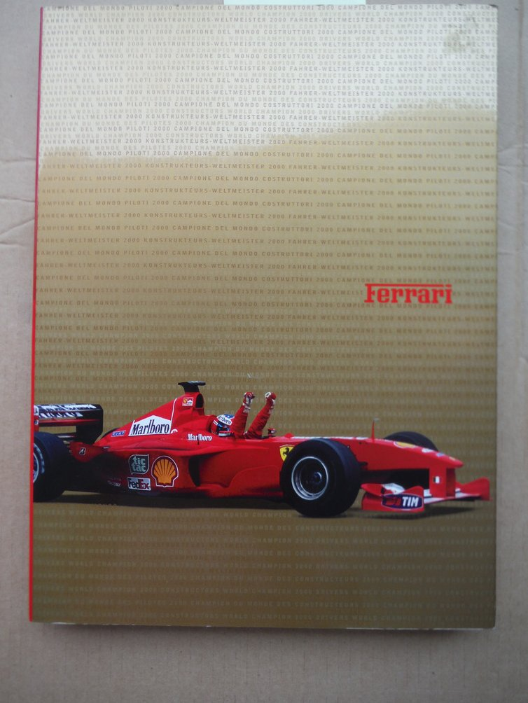 2000, Ferrari's Year, two titles and a series of records / Il 2000 della Ferrari