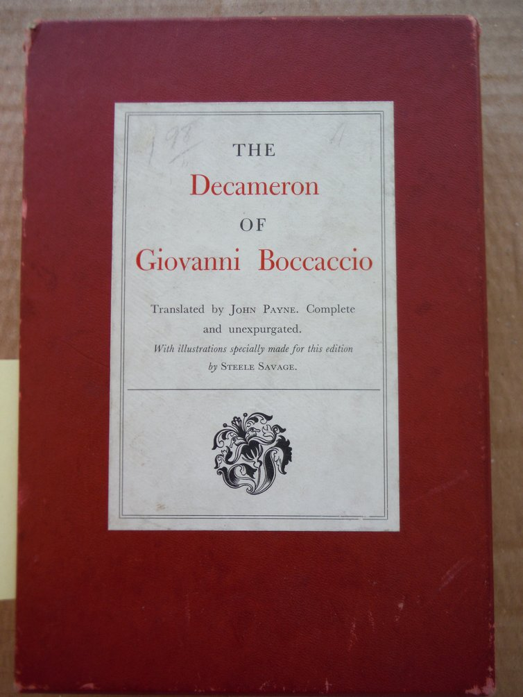 Decameron of Boccaccio.
