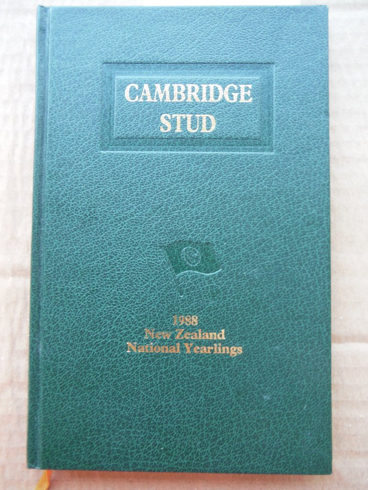 CAMBRIDGE STUD, 1988 NEW ZEALAND NATIONAL YEARLINGS