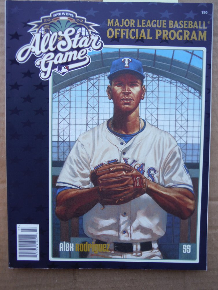 Image 0 of 2002 All Star Game Major League Baseball Official Program