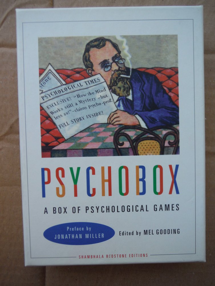 Psychobox a Box of Psychological Games