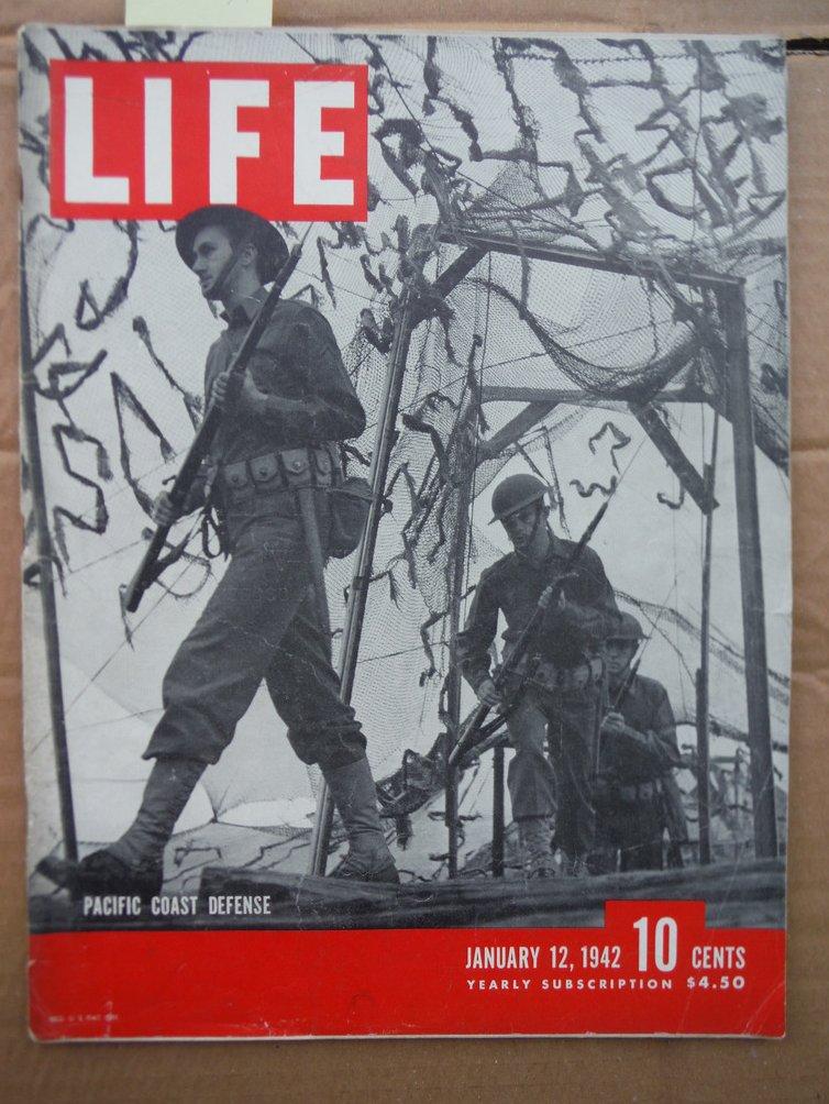 Image 0 of Life Magazine Vol. 12 No. 2 (January 12, 1942)