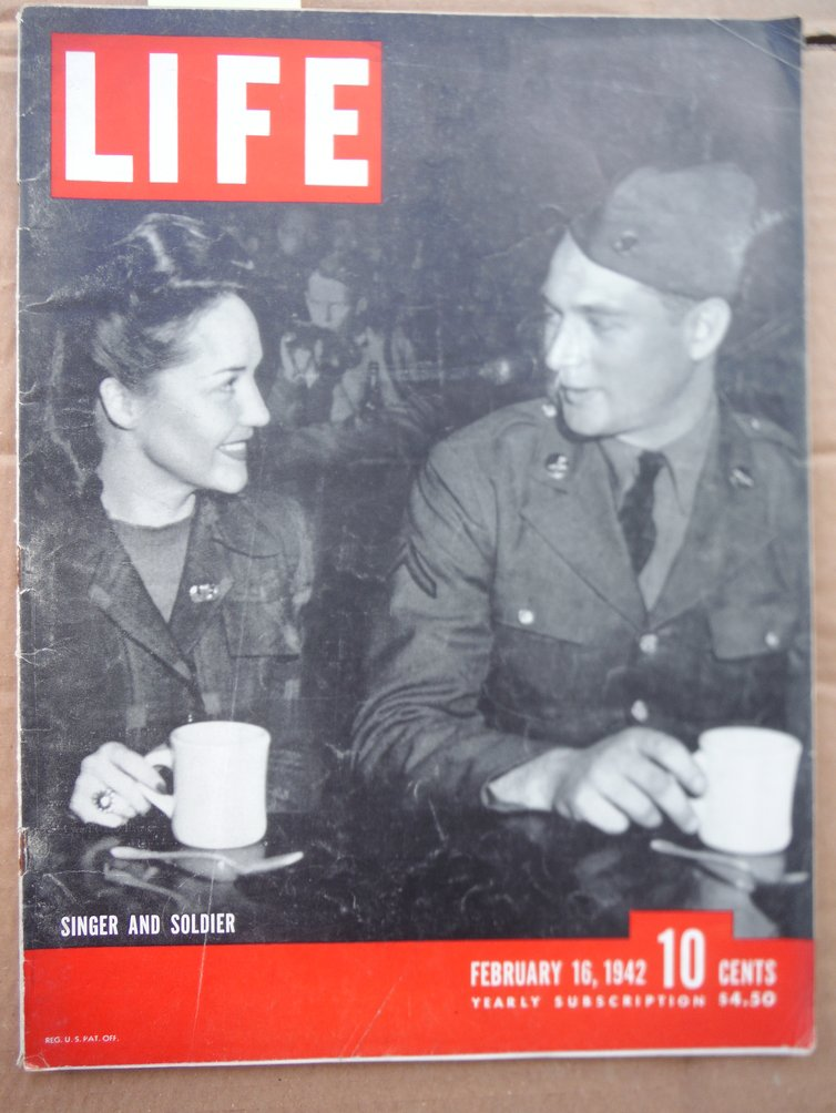 Image 0 of Life Magazine Vol. 12 No. 7 (February 16, 1942)