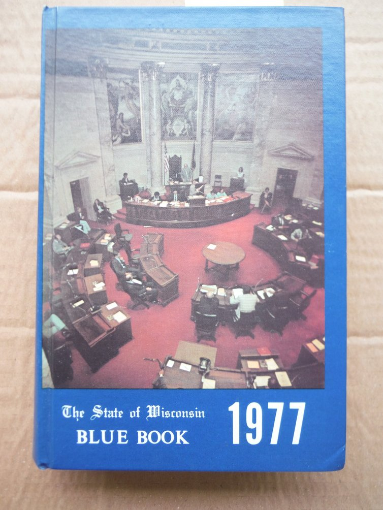 Image 0 of The State of Wisconsin 1977 Blue Book
