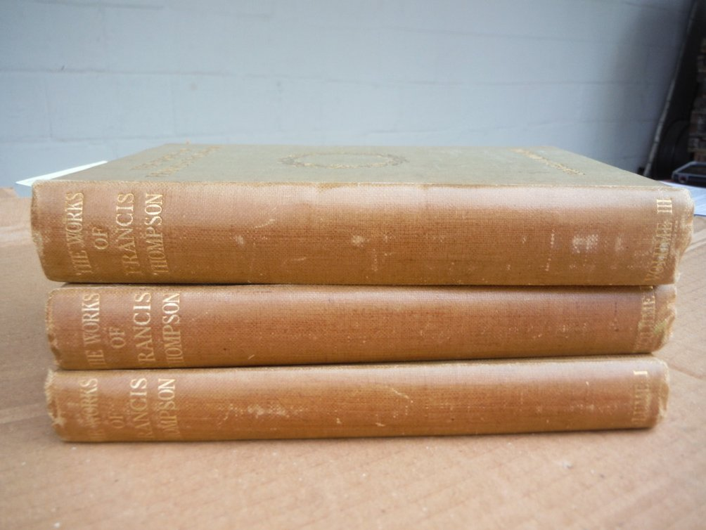 Image 0 of Works of Francis Thompson (in three volumes)